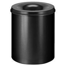 Vlamdovende papierbak 80 ltr - zwart