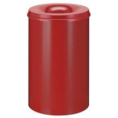 Vlamdovende papierbak 110 ltr - rood