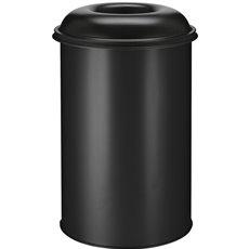 Vlamdovende papierbak 200 ltr - zwart