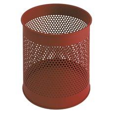 Geperforeerde papierbak 15 ltr - rood