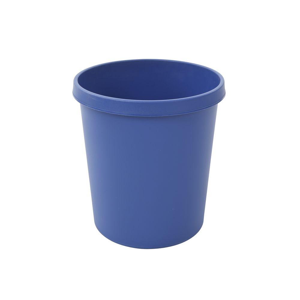 Ronde papierbak 18 ltr - blauw