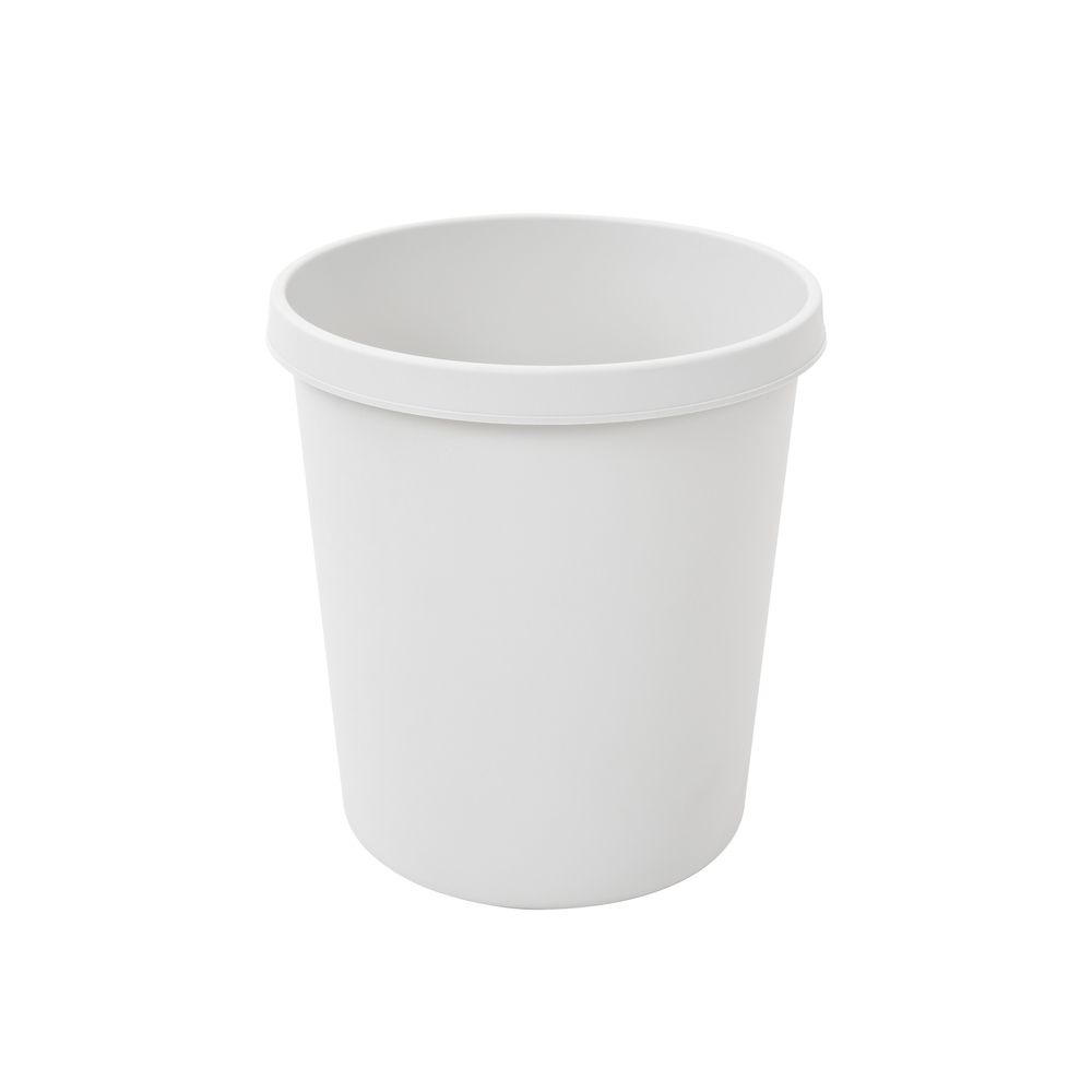 Ronde papierbak 18 ltr - grijs
