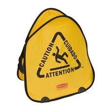Rubbermaid Opvouwbare veiligheidskegel - geel