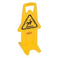 Rubbermaid Stabiel waarschuwingsbord - geel