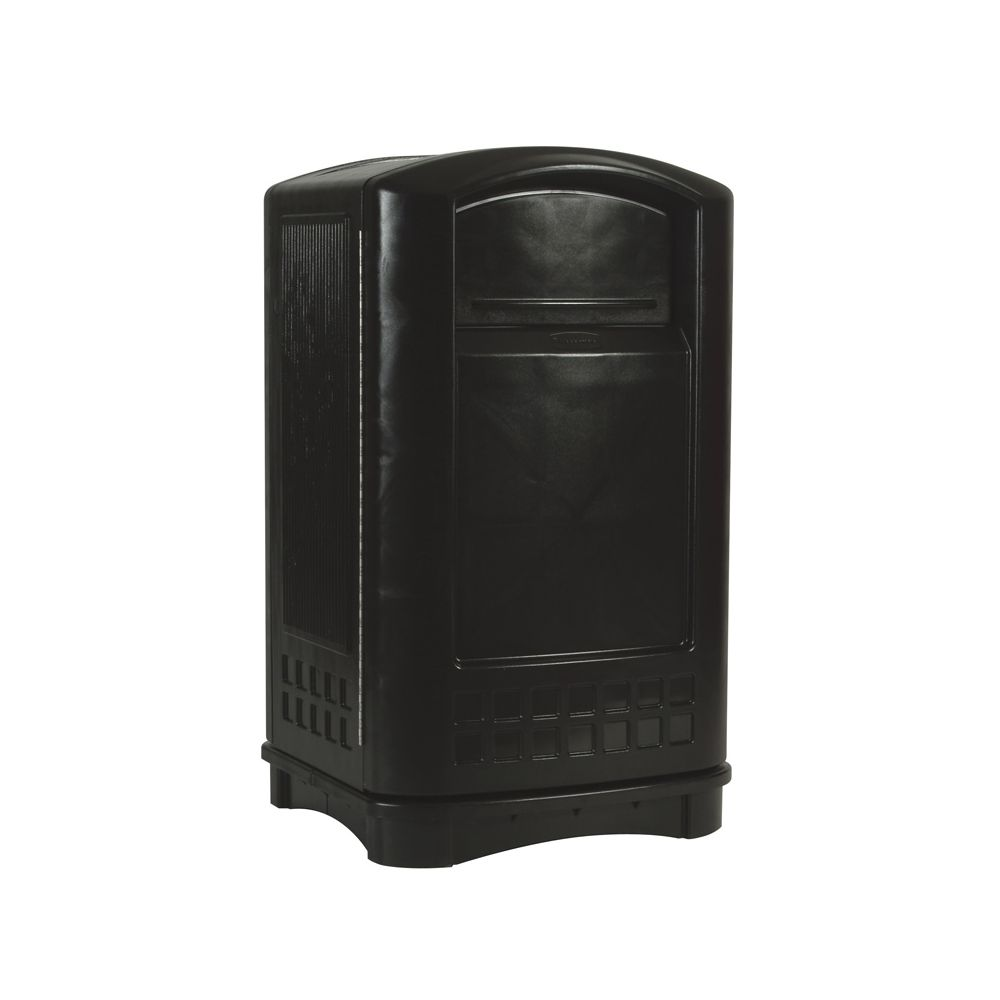 Rubbermaid Landmark container - zwart
