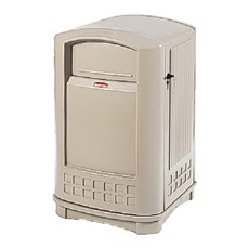 Rubbermaid Landmark container - beige