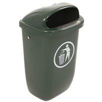 Afvalbak DIN-PK 50 ltr - groen