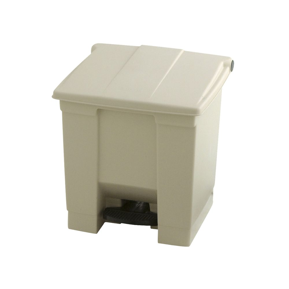 Rubbermaid Step-On container 30 ltr - beige