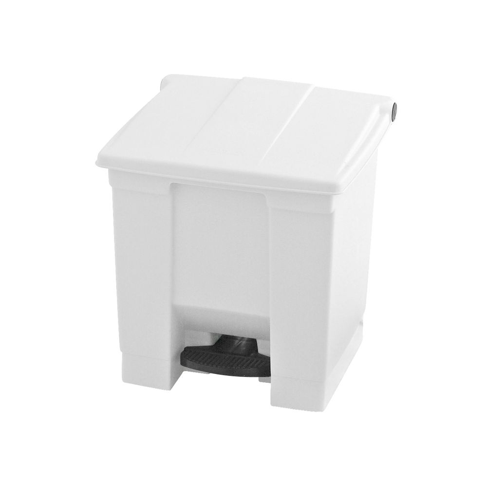 Rubbermaid Step-On container 30 ltr - wit