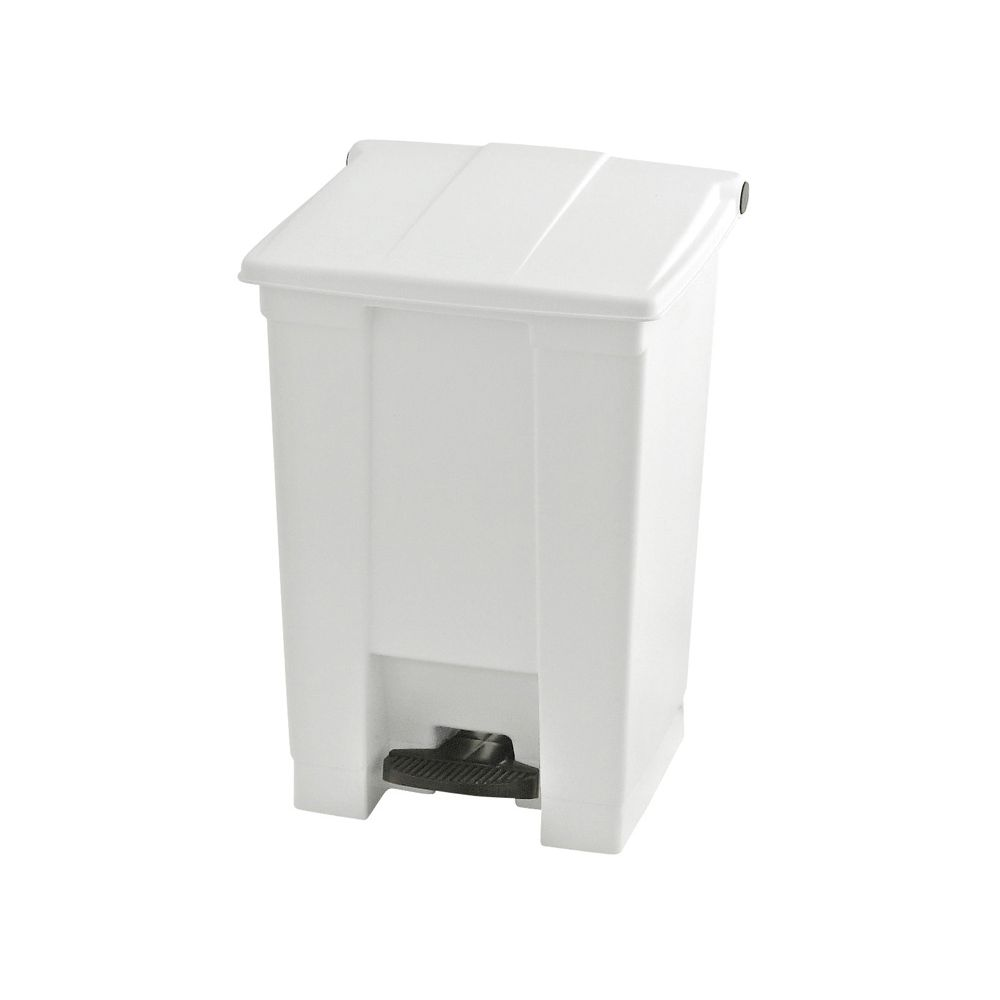 Rubbermaid Step-On container 45 ltr - wit