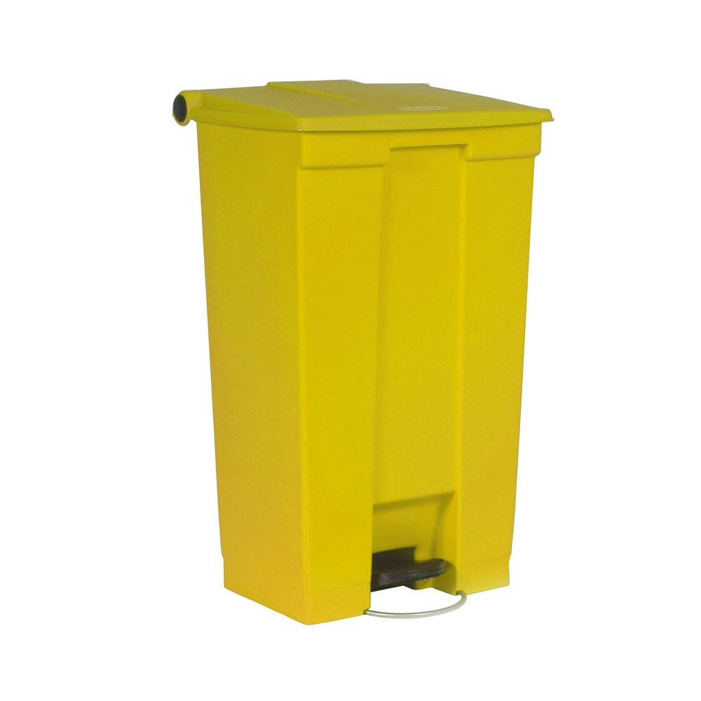 Rubbermaid Step-On container 87 ltr - geel
