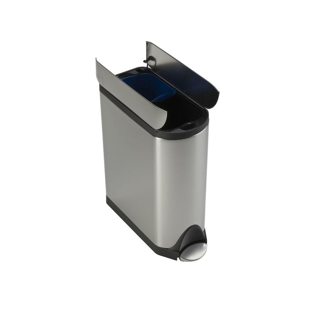 Simplehuman Butterfly Recycler, Simplehuman - mat RVS