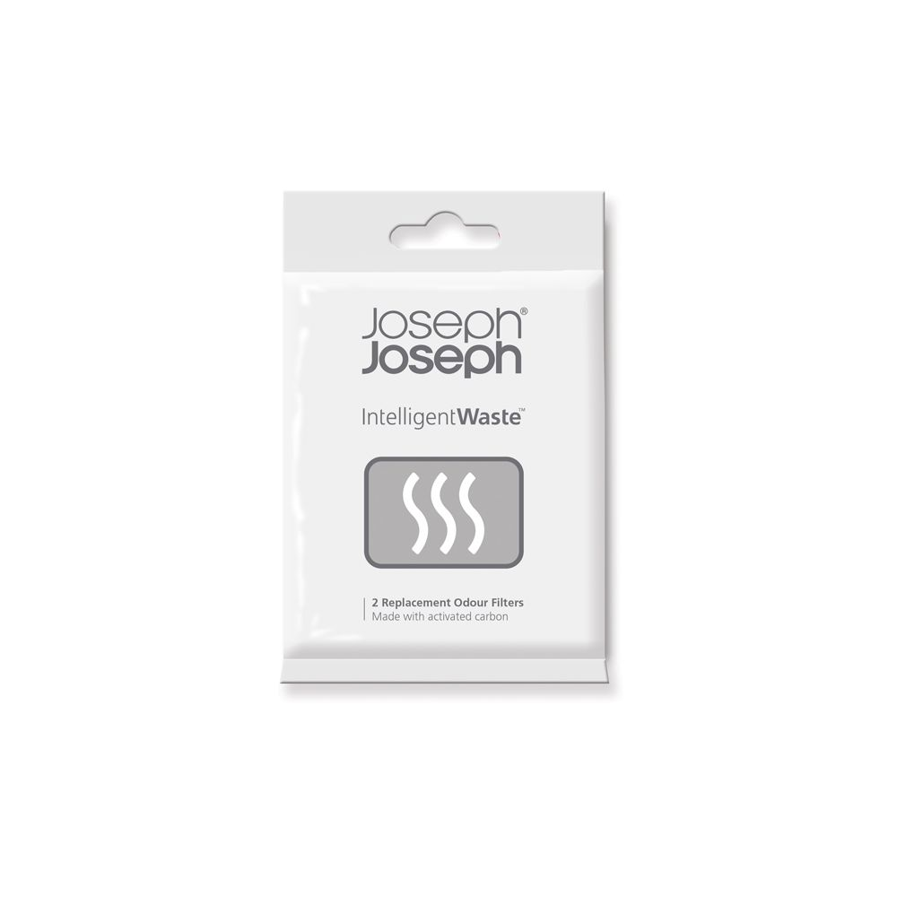 Joseph Joseph Intelligent Waste Geurfilter Set van 2 Stuks - zwart
