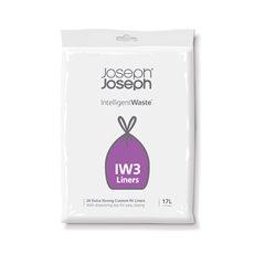 Joseph Joseph Intelligent Waste Afvalzak IW3 17 liter - wit