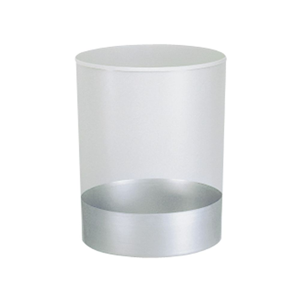 Vuurbestendige papierbak met inzet 20 ltr - grijs