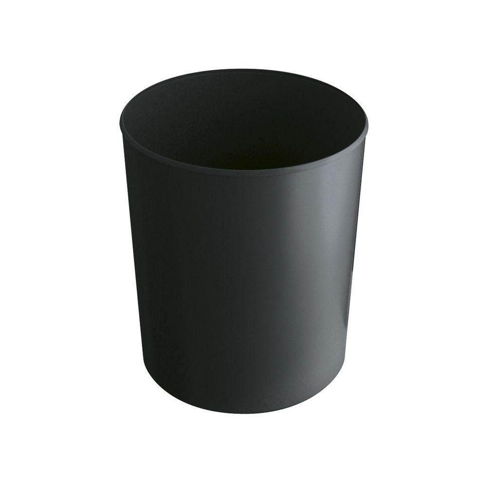 Vuurbestendige papierbak 20 ltr - zwart