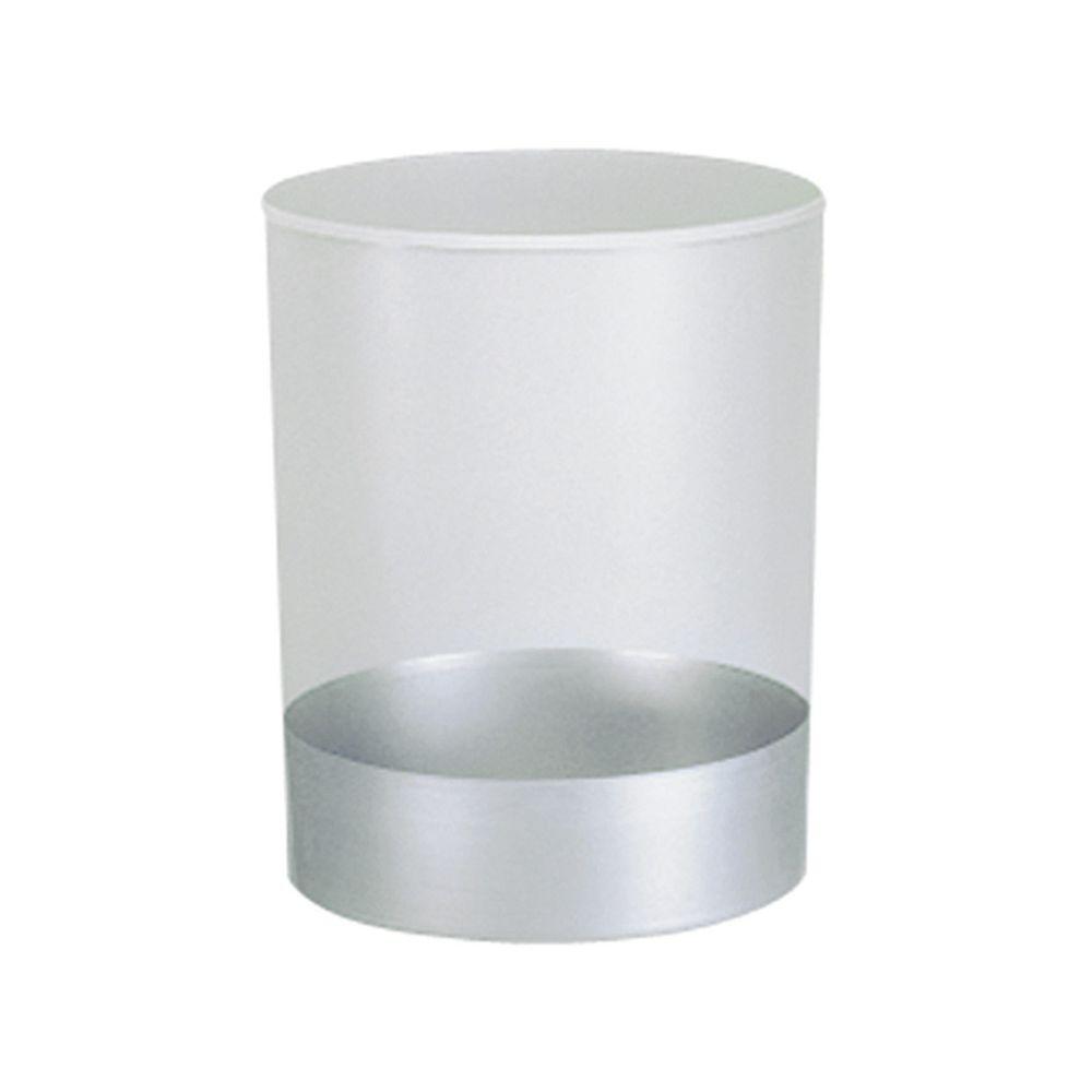 Vuurbestendige papierbak met inzet 13 ltr - grijs
