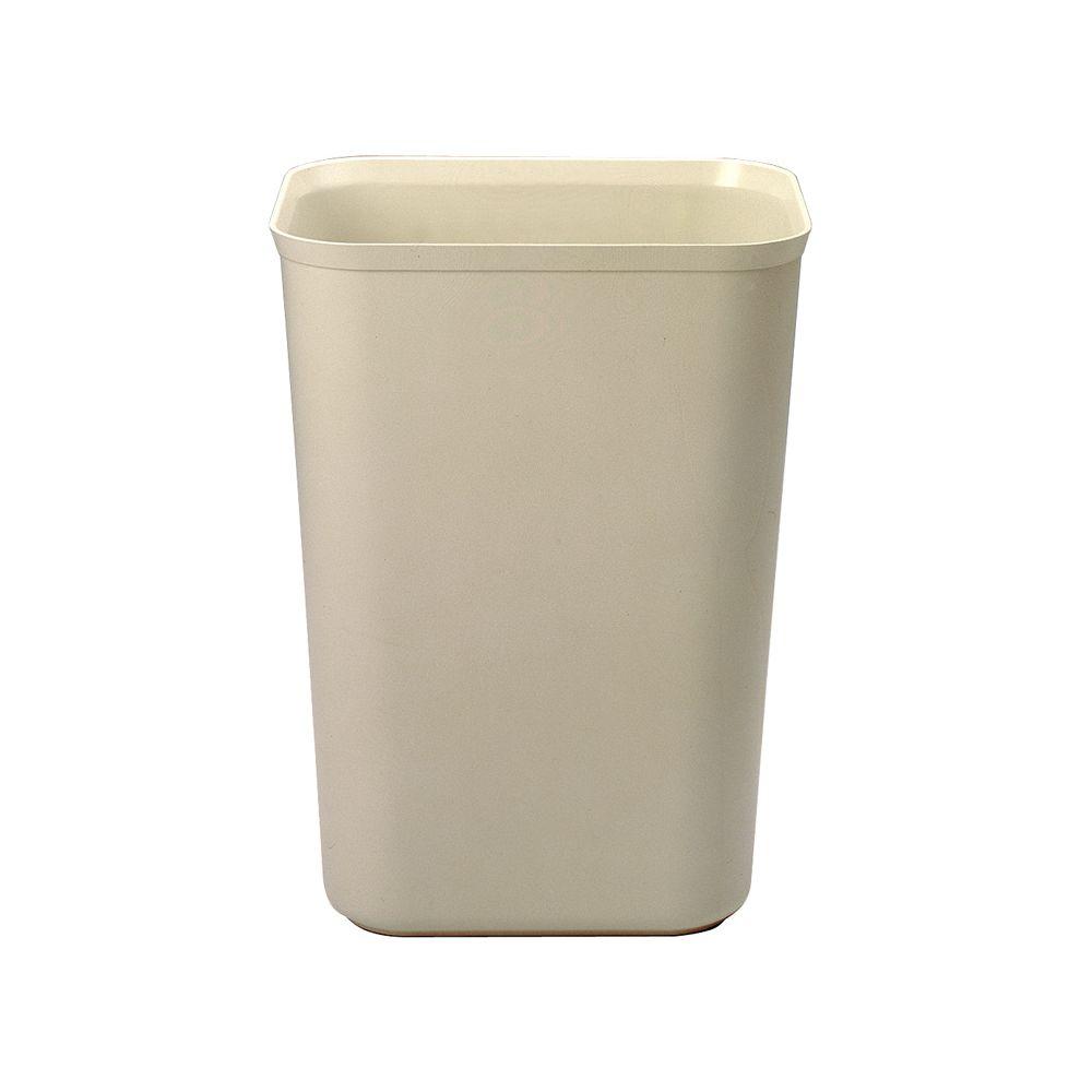 Rubbermaid Vuurbestendige papierbak 38 ltr - beige