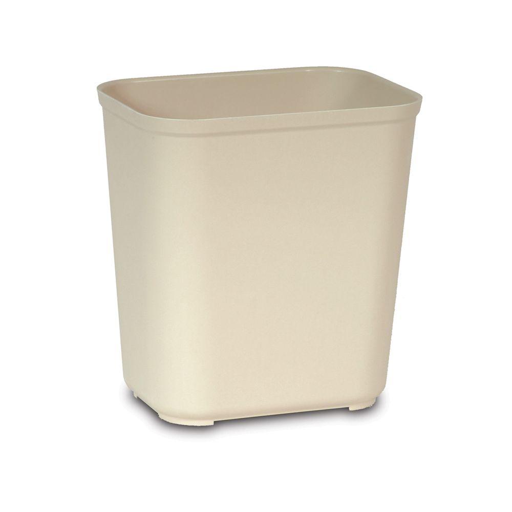 Rubbermaid Vuurbestendige papierbak 26,5 ltr - beige