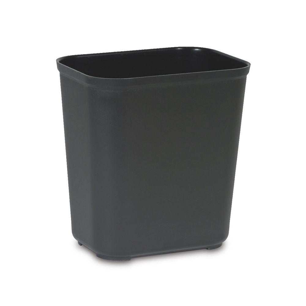 Rubbermaid Vuurbestendige papierbak 26,5 ltr - zwart