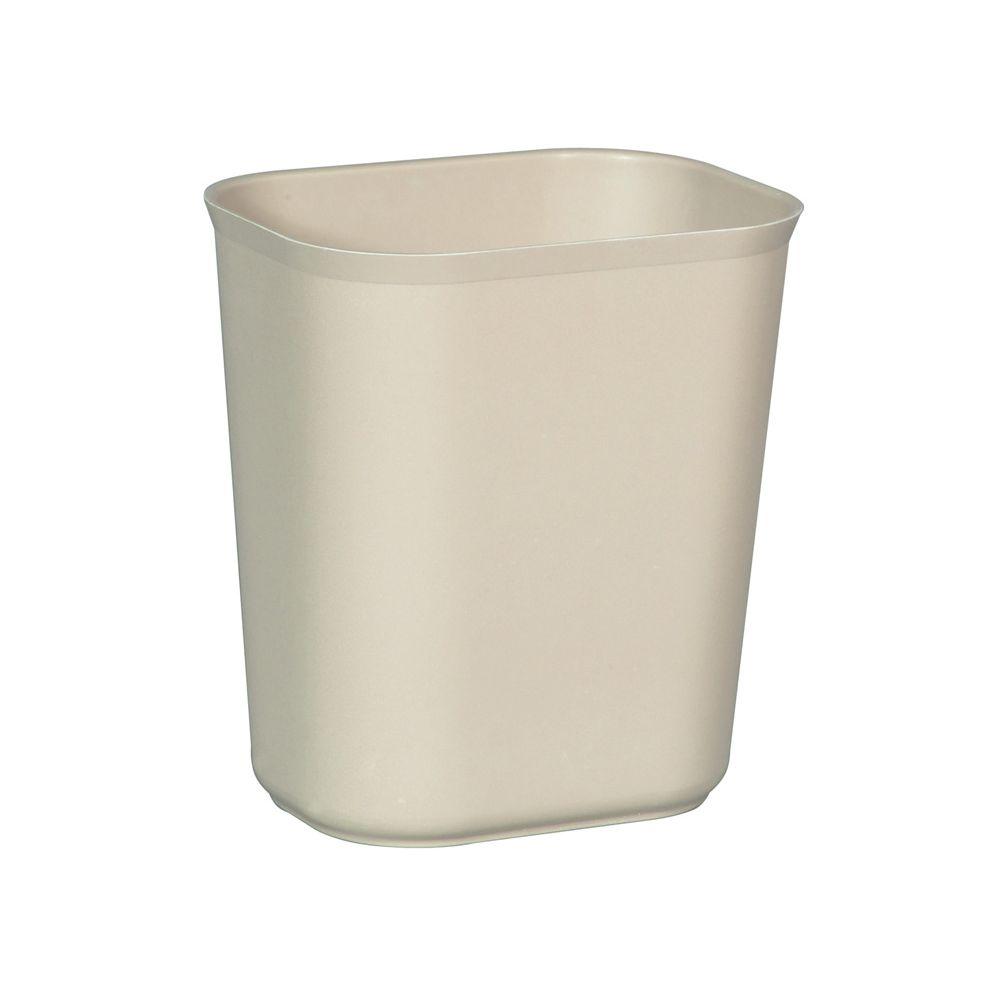Rubbermaid Vuurbestendige papierbak 13,2 ltr - beige