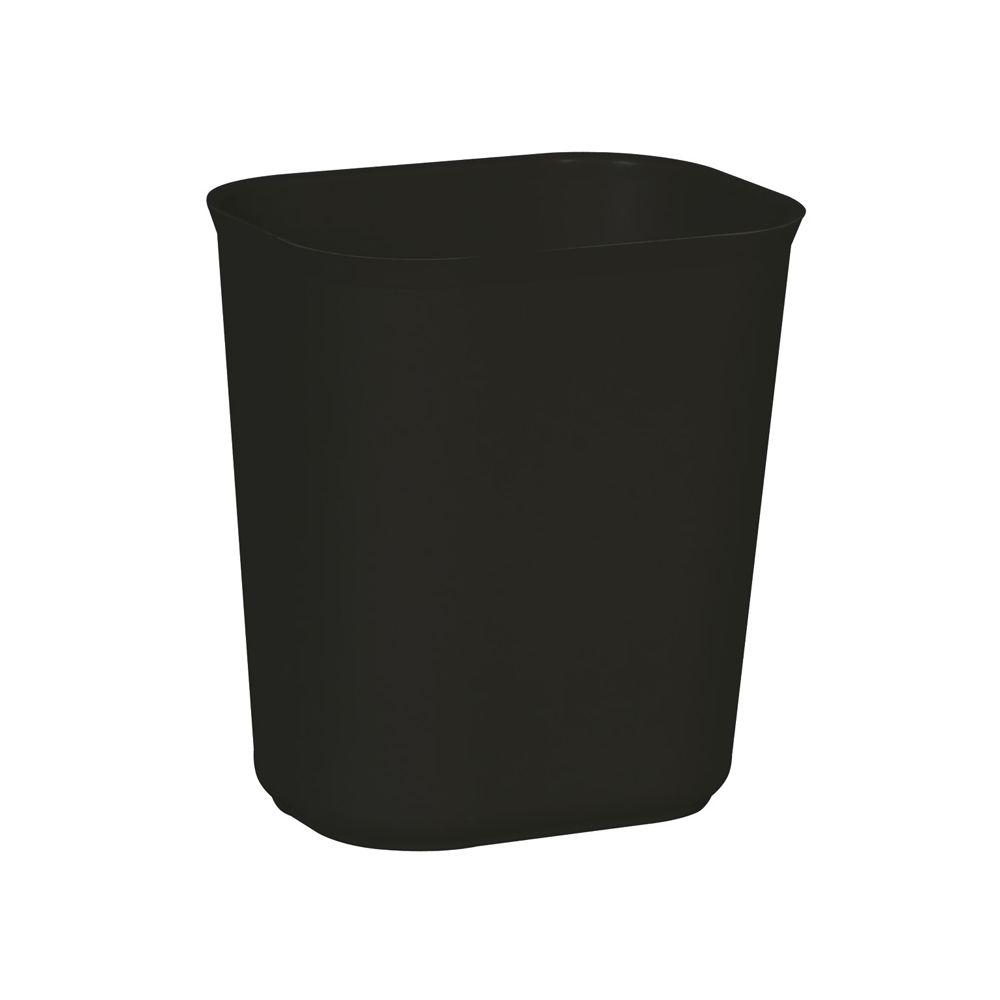 Rubbermaid Vuurbestendige papierbak 13,2 ltr - zwart