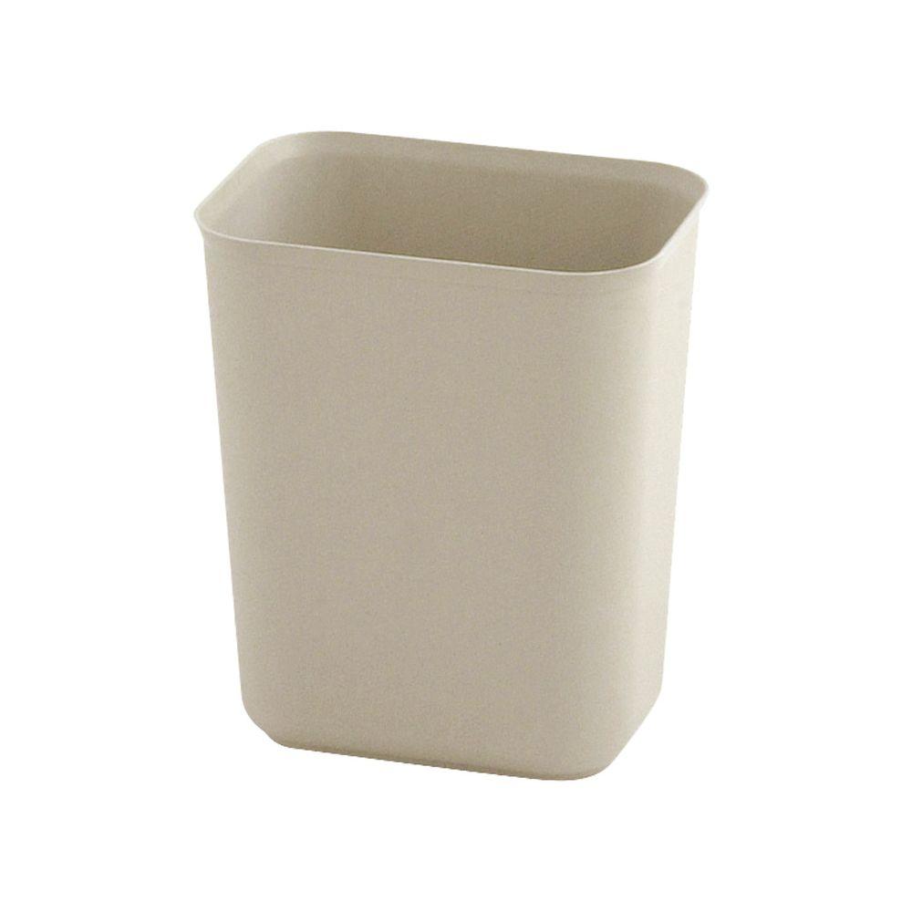 Rubbermaid Vuurbestendige papierbak 6,6 ltr - beige