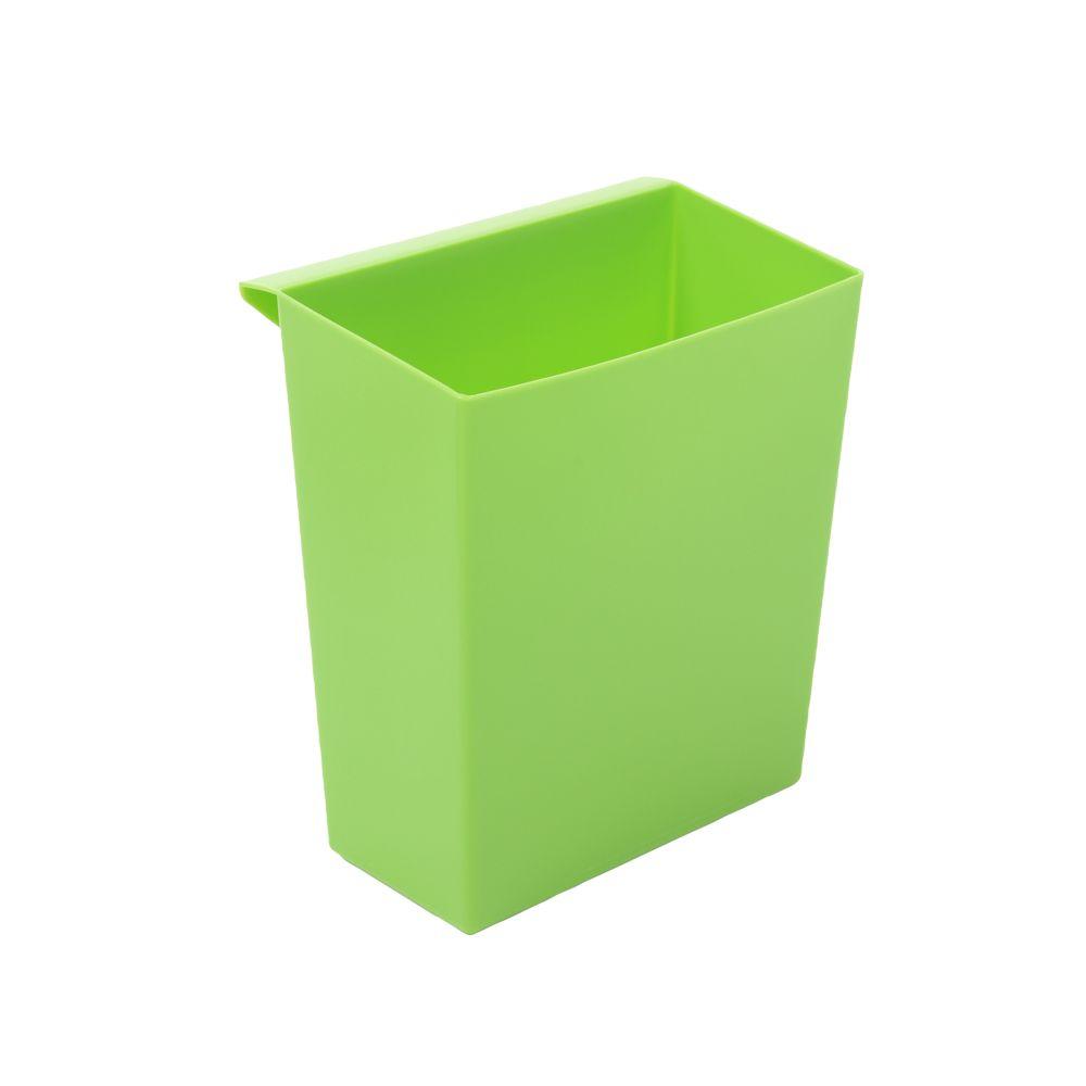 Inzetbakje voor vierkant tapse papierbak - groen