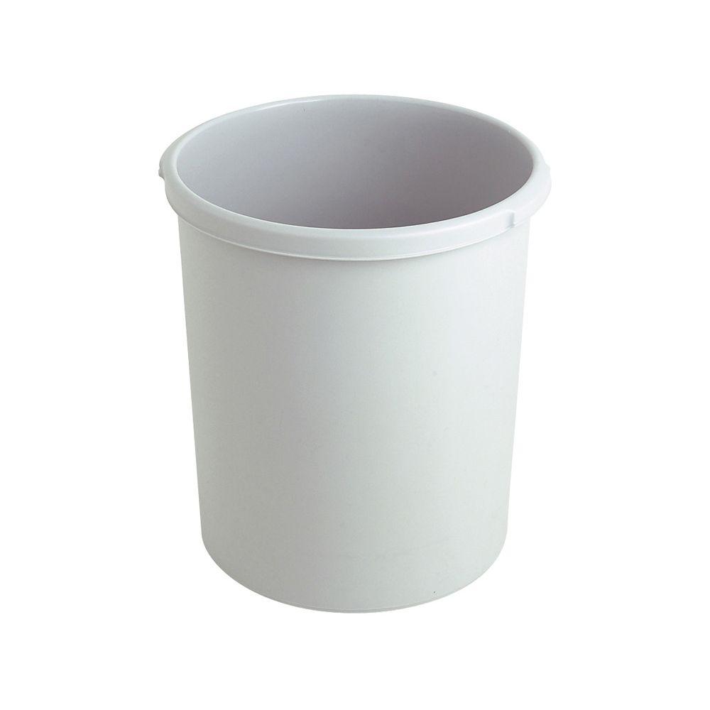 Kunststof papierbak, 30 ltr - grijs