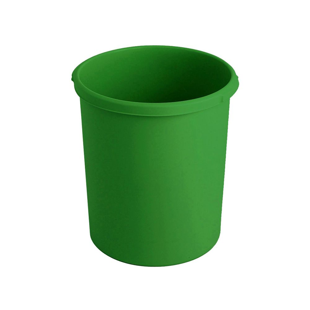 Kunststof papierbak, 30 ltr - groen