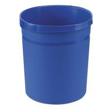 Kunststof papierbak, 18 ltr - blauw