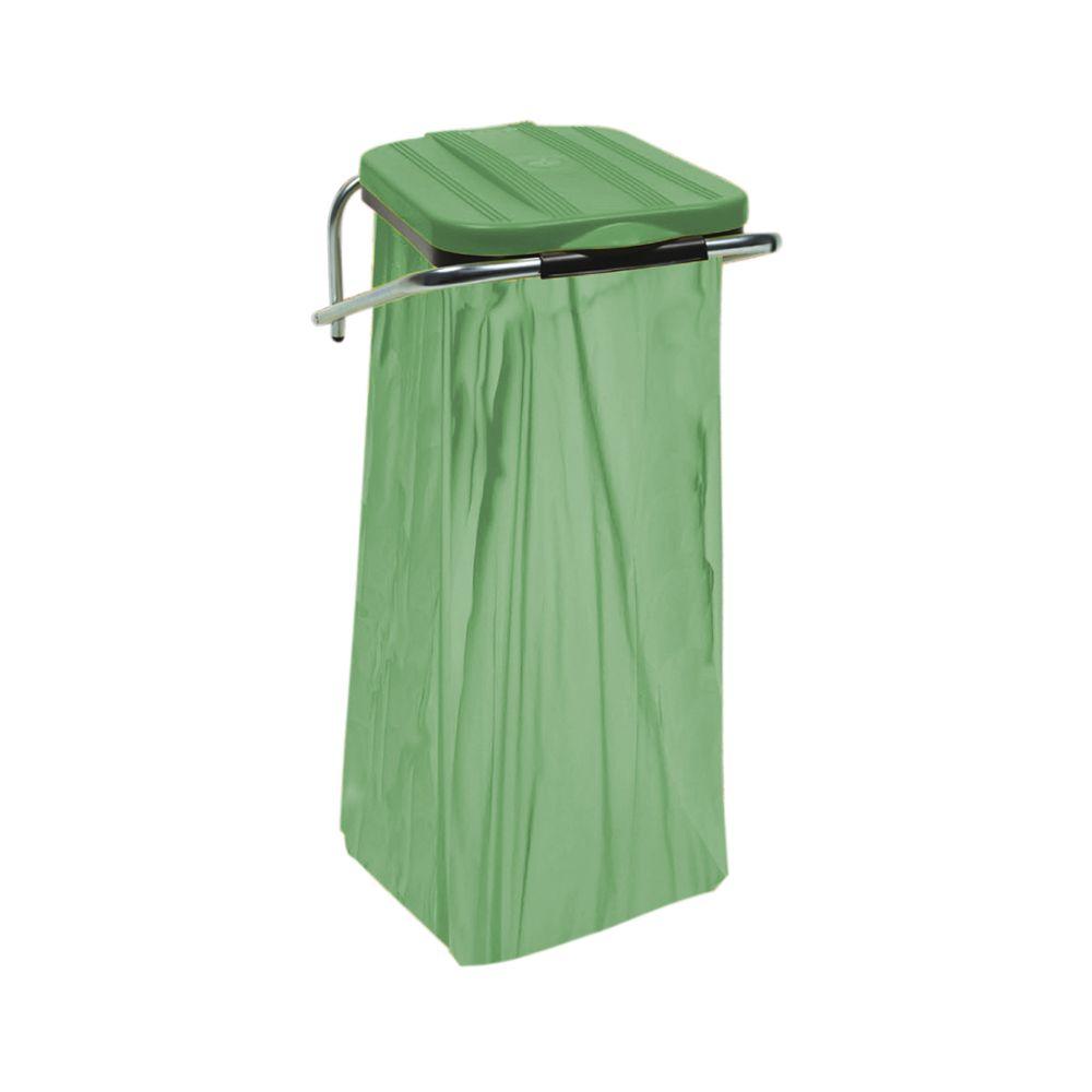 Wandafvalzakhouder Wallfix - groen
