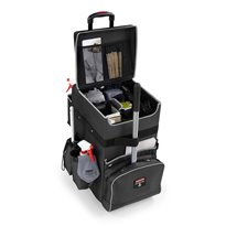 Rubbermaid Quick Cart groot - donkergrijs