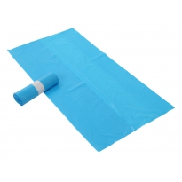 Afvalzakken 80x110x0.025 extra sterk - blauw