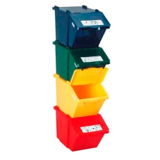 Recyclingbox - rood