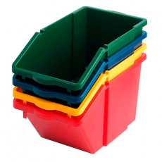 Recyclingbox - geel