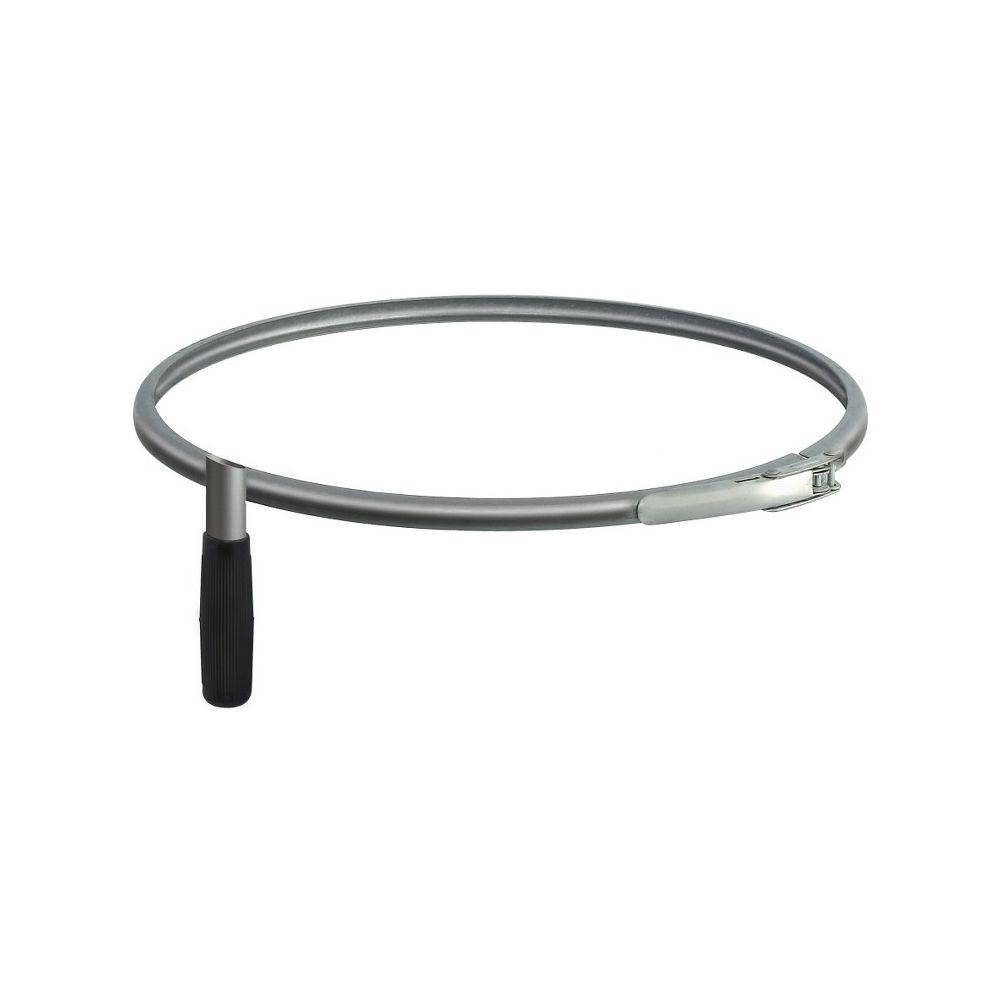 Afvalzakhouder-ring voor kantonnier Ø40 - verzinkt