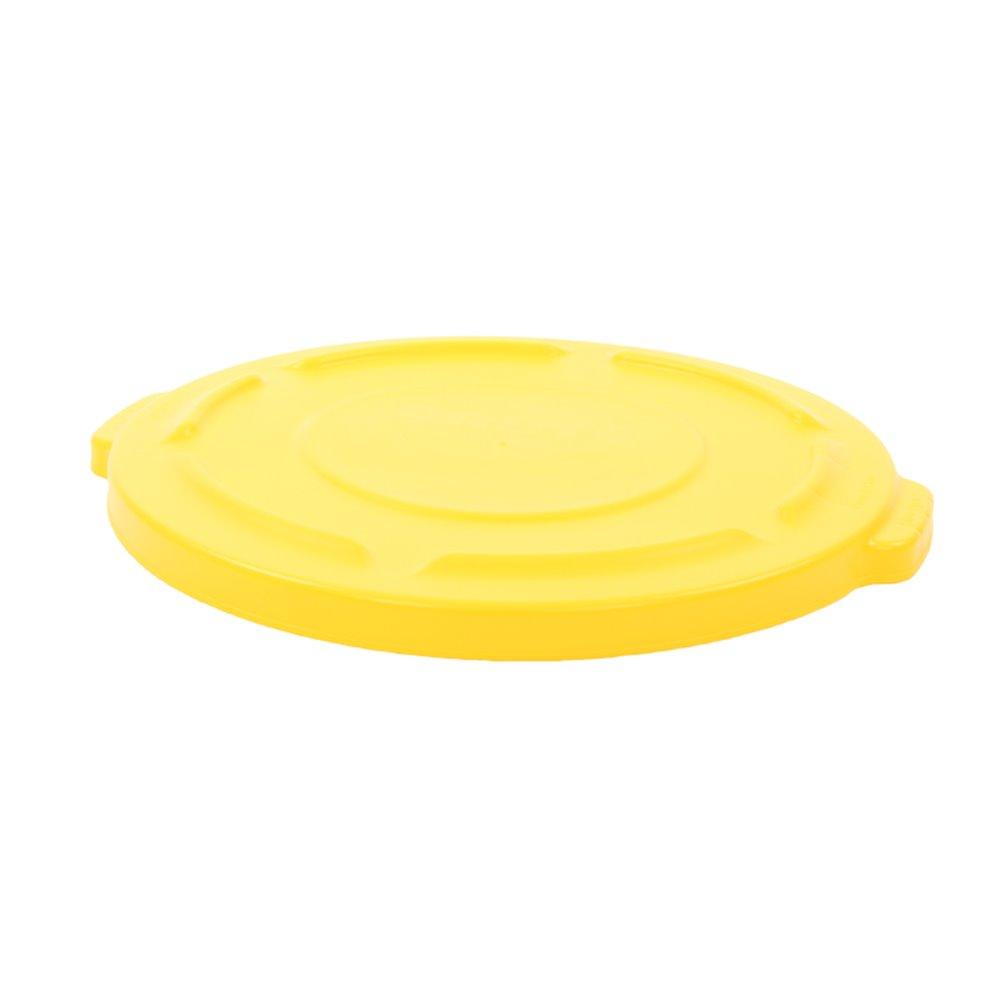 Rubbermaid deksel rond - geel