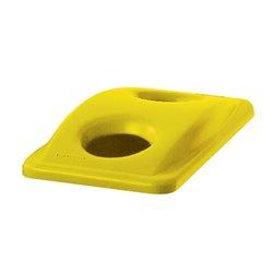 Rubbermaid flessendeksel - geel