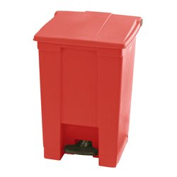 Rubbermaid Step-On Classic container 45 ltr - rood