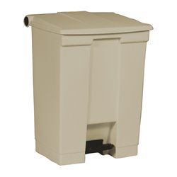 Rubbermaid Step-On Classic container 68 ltr - beige