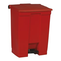 Rubbermaid Step-On Classic container 68 ltr - rood