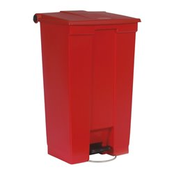 Rubbermaid Step-On Classic container 87 ltr - rood