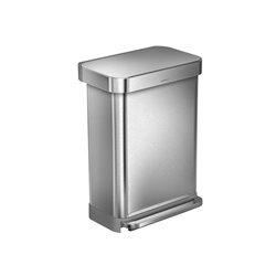 Simplehuman afvalemmer Liner Pocket 55 liter - zilver