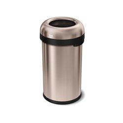 Afvalbak Bullet Open Top 60 ltr, Simplehuman rose goud