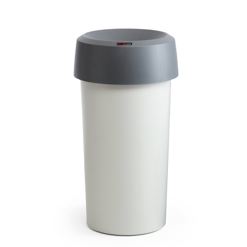 Afvalbak Modo rond 50 ltr - grijs