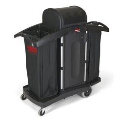 Rubbermaid Hotelwagen met hoge veiligheid - zwart