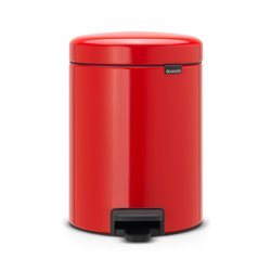 Brabantia pedaalemmer newIcon 5 ltr - passion red