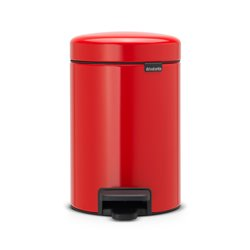 Brabantia pedaalemmer newIcon 3 ltr - passion red