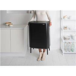 Brabantia Bo Touch Bin Hi 2x30 ltr - mat zwart